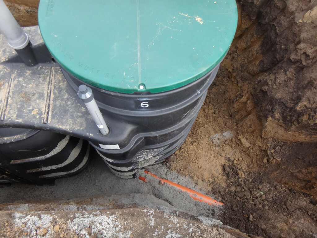 Monoblock 2 Compact Wastewater Treatment System Installed