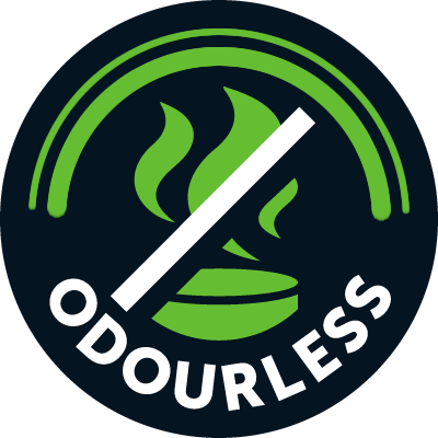 Odourless domestic wastewater treatment